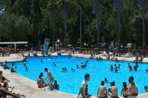 Piscinas do Lisboa Camping